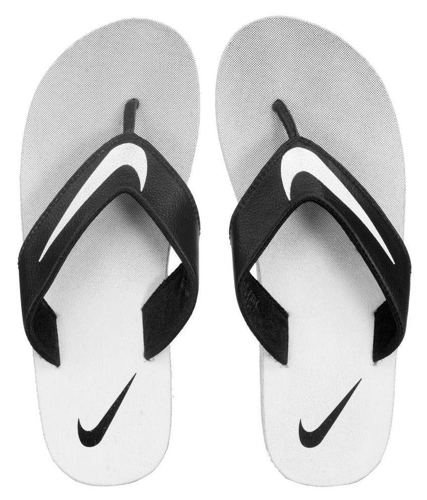 timeless design 1b8d2 a5d17 Nike White Thong Flip Flop