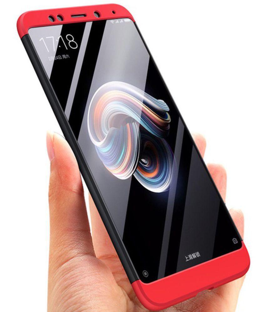 Xiaomi Redmi Note 5 Shock Proof Case Elef Red 3 In 1 Gkk 360 Vivo Y83 Hard Baby Skin 3in1 Full Cover Casing Protection
