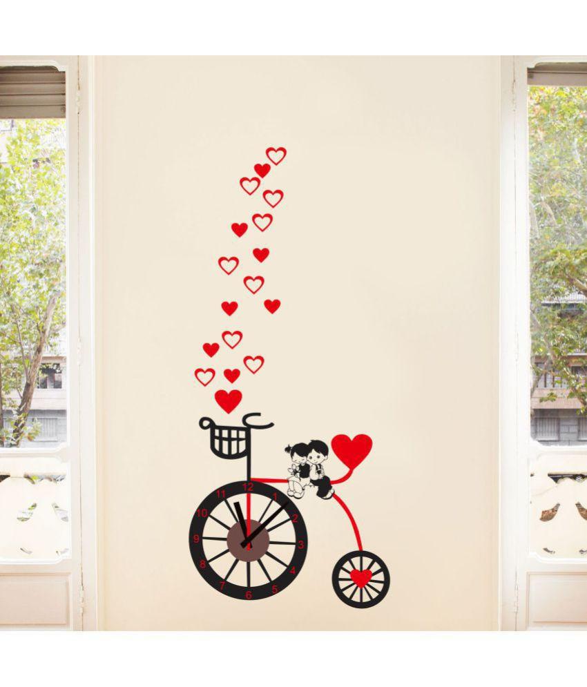 Creatick Studio Wall Stickers Romance & Love Sticker ( 127 x 56 cms )