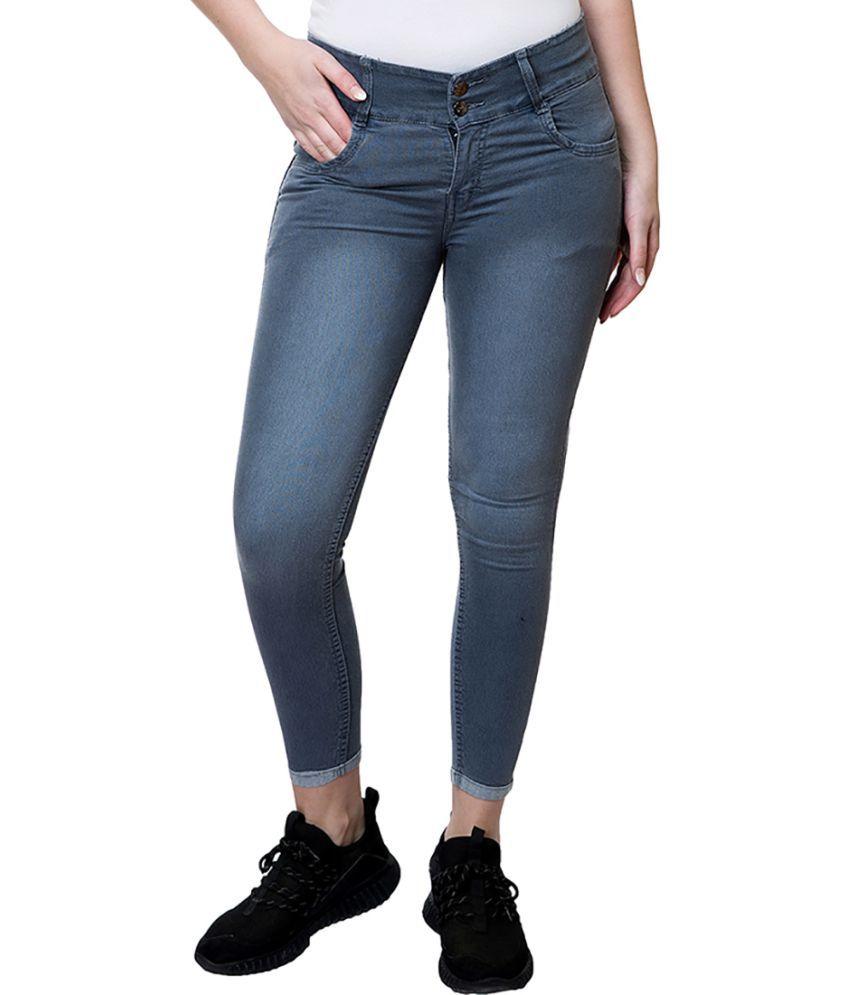 Stanvee Denim Jeans - Grey