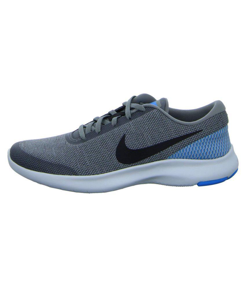 5f840beb22 Nike FLEX EXPERIENCE RN 7 Grey Running Shoes - Buy Nike FLEX ...