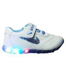 LNG Lifestyle Led Lights Shoes Boy & Girl (LightBlue)