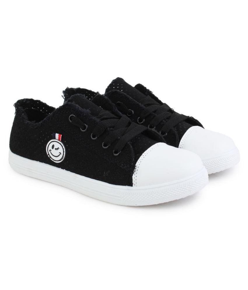 ZOOTO Black Casual Shoes