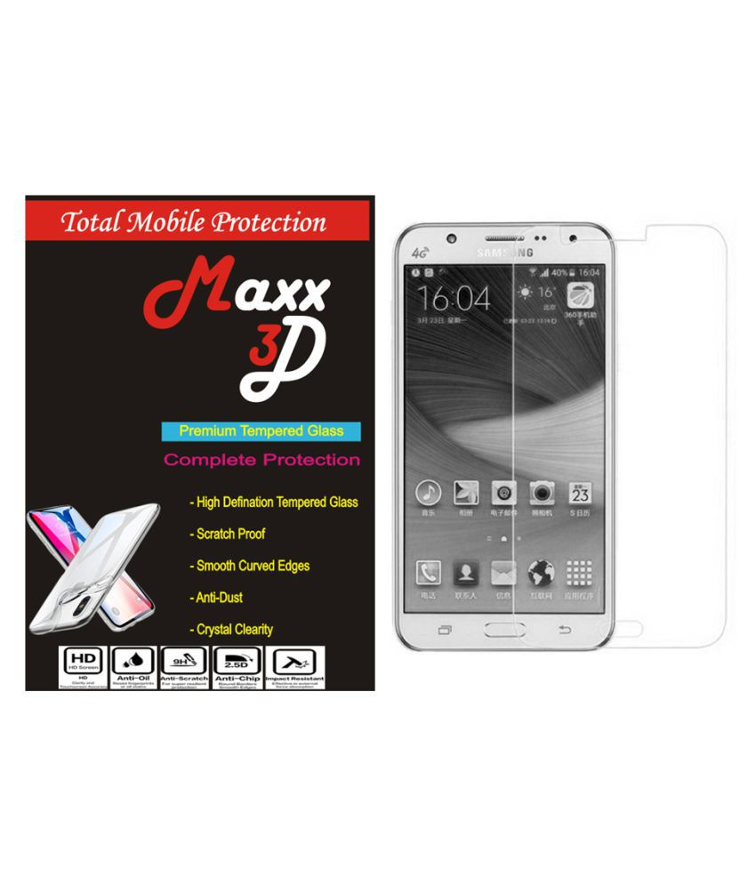 Samsung Galaxy J2 Ace Tempered Glass Screen Guard By MAXX3D