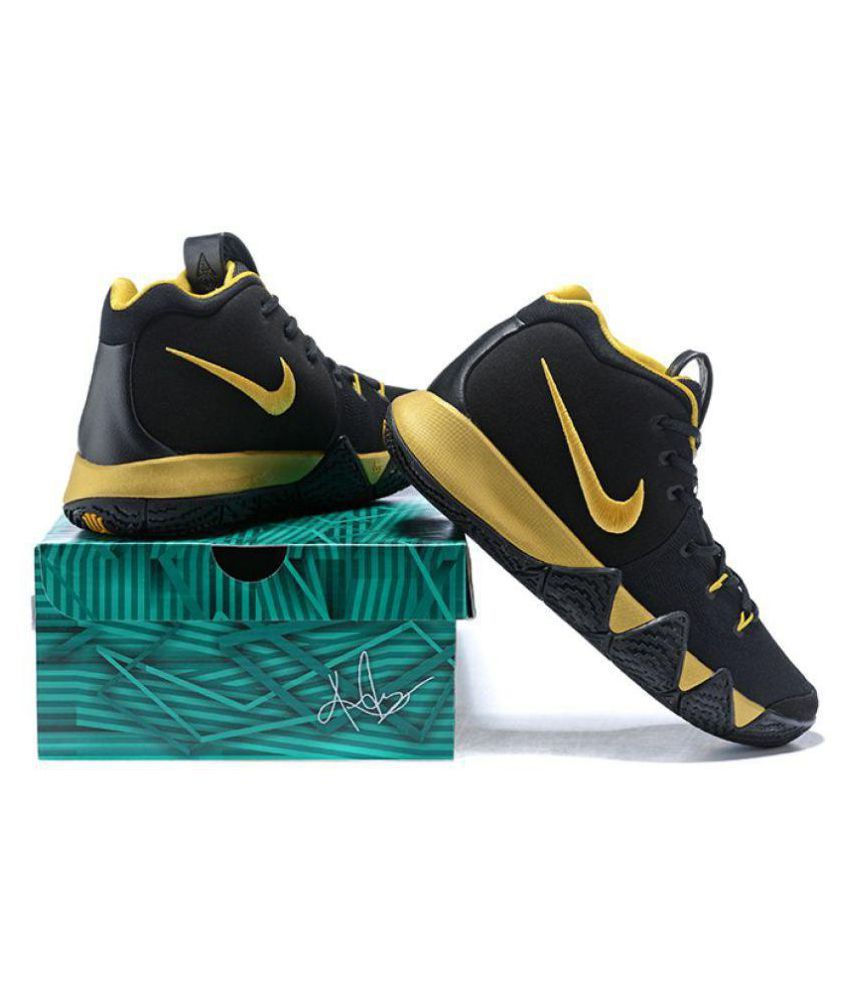 39582abb5ee Nike kyrie 4 irving Black Basketball Shoes - Buy Nike kyrie 4 irving Black Basketball  Shoes Online at Best Prices in India on Snapdeal