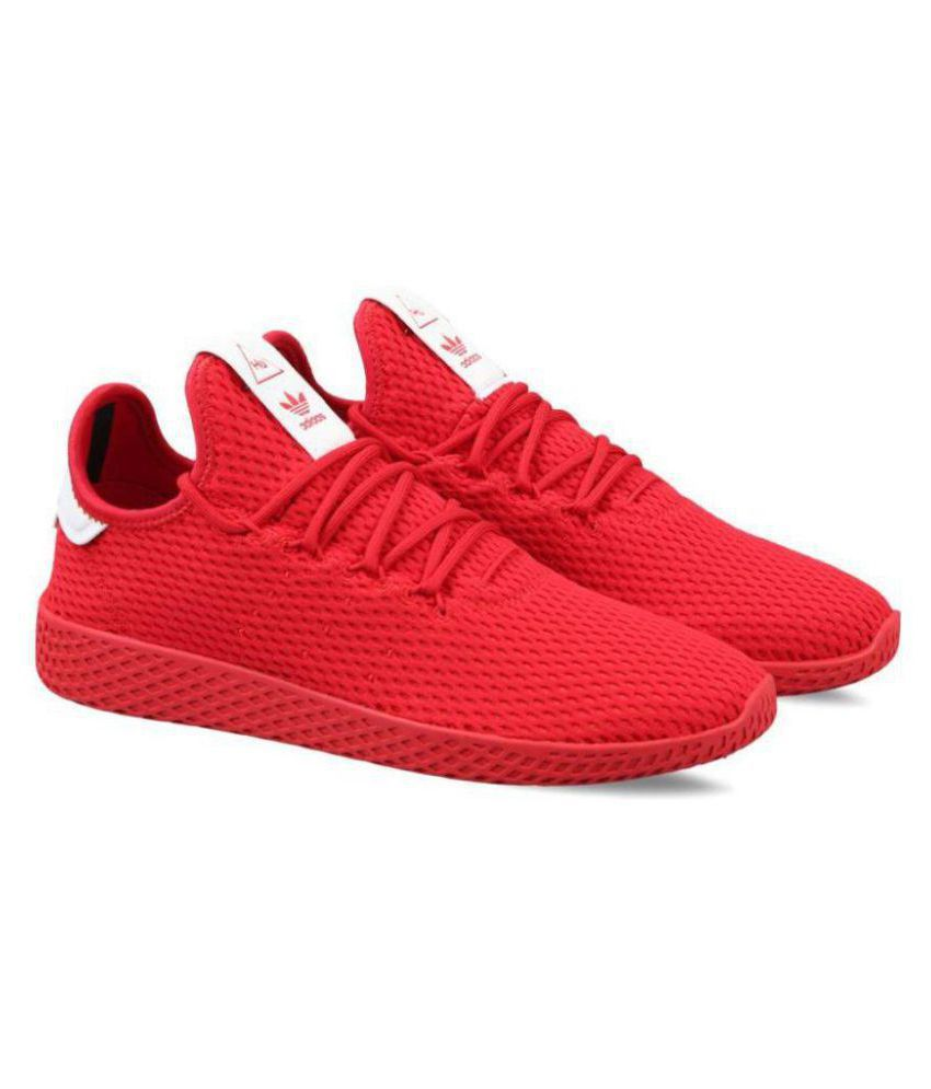 c1e339840 Adidas Pharrell Williams Sneakers Red Training Shoes Adidas Pharrell  Williams Sneakers Red Training Shoes ...