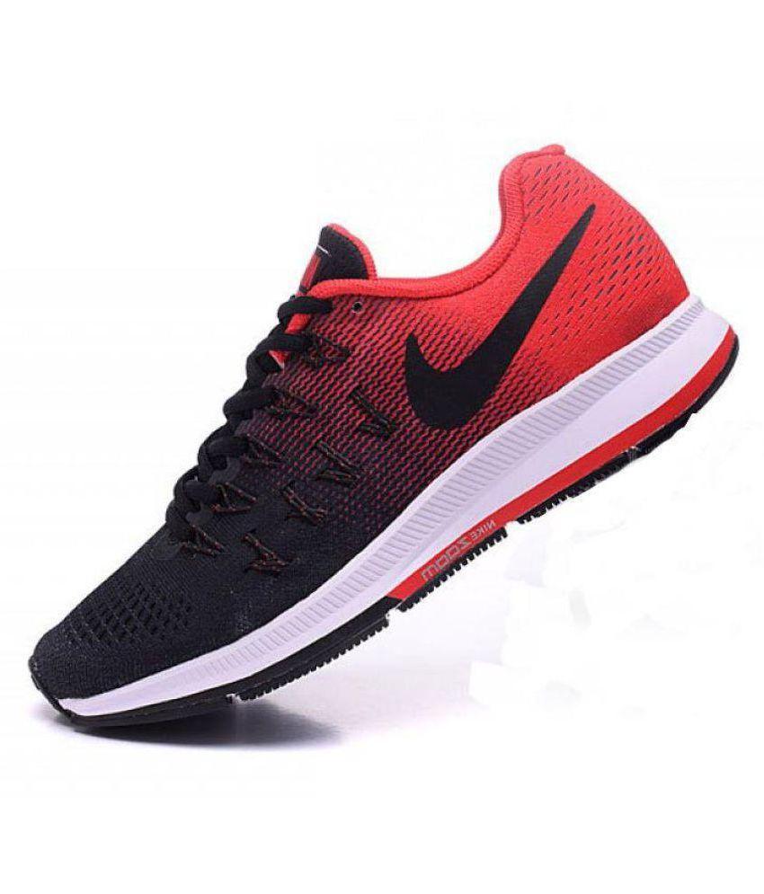 932d212b2f2 ... Nike Air zoom 33 pegasus Pegasus 33 Black Red Black Running ...