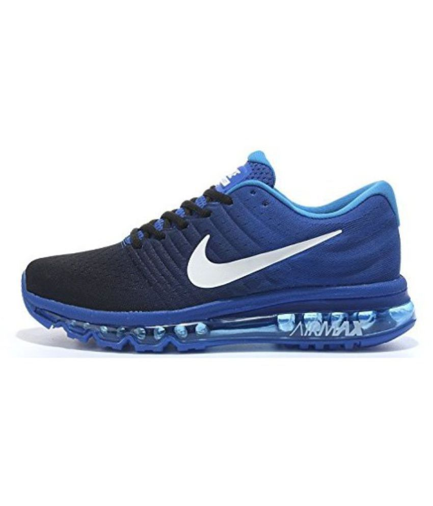 5365f50f6e Nike Airmax 2017 LTD Edition Navy Royal Multi Color Running Shoes - Buy Nike  Airmax 2017 LTD Edition Navy Royal Multi Color Running Shoes Online at Best  ...