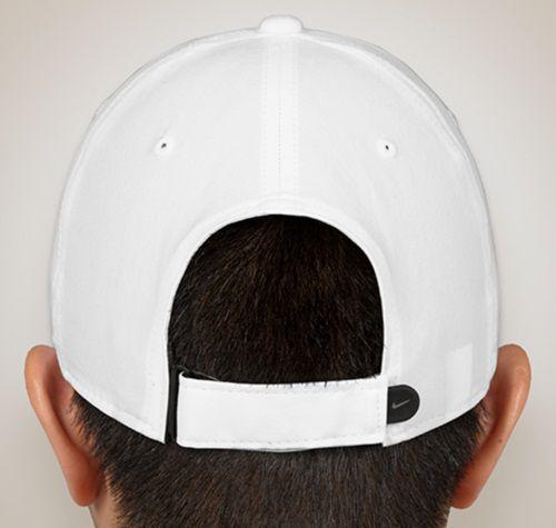 1017d27fcbd Nike White Plain Fabric Caps - Buy Online   Rs.