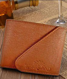 Woodland Imports Leather Tan Casual Regular Wallet