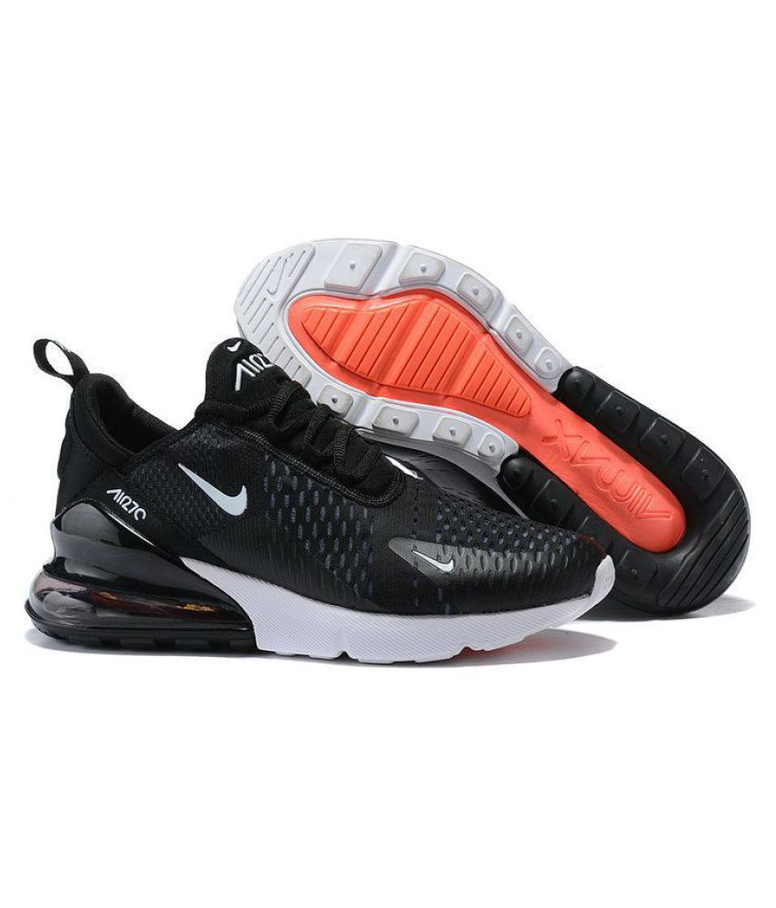 more photos 497a6 bd843 Nike Air Max 270 Black Running Shoes - Buy Nike Air Max 270 Black Running  Shoes Online at Best Prices in India on Snapdeal