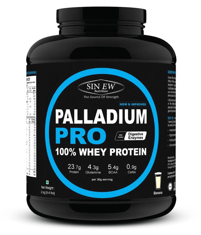 Sinew Nutrition Palladium Pro Whey Protein - Banana, 2 kg