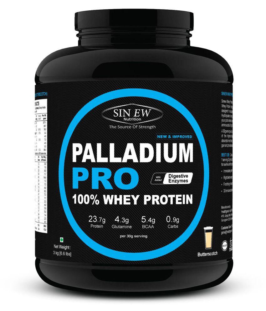 Sinew Nutrition Palladium Pro Whey Protein - Butterscotch, 3 kg