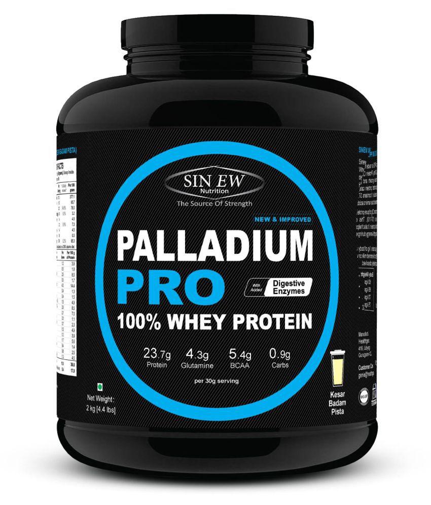 Sinew Nutrition Palladium Pro Whey Protein - Kesar Pista Badam, 2 kg