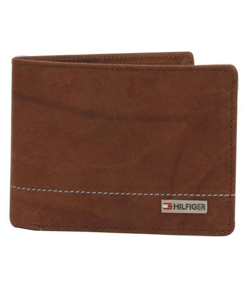 Tommy hifigher Leather Brown Casual Regular Wallet