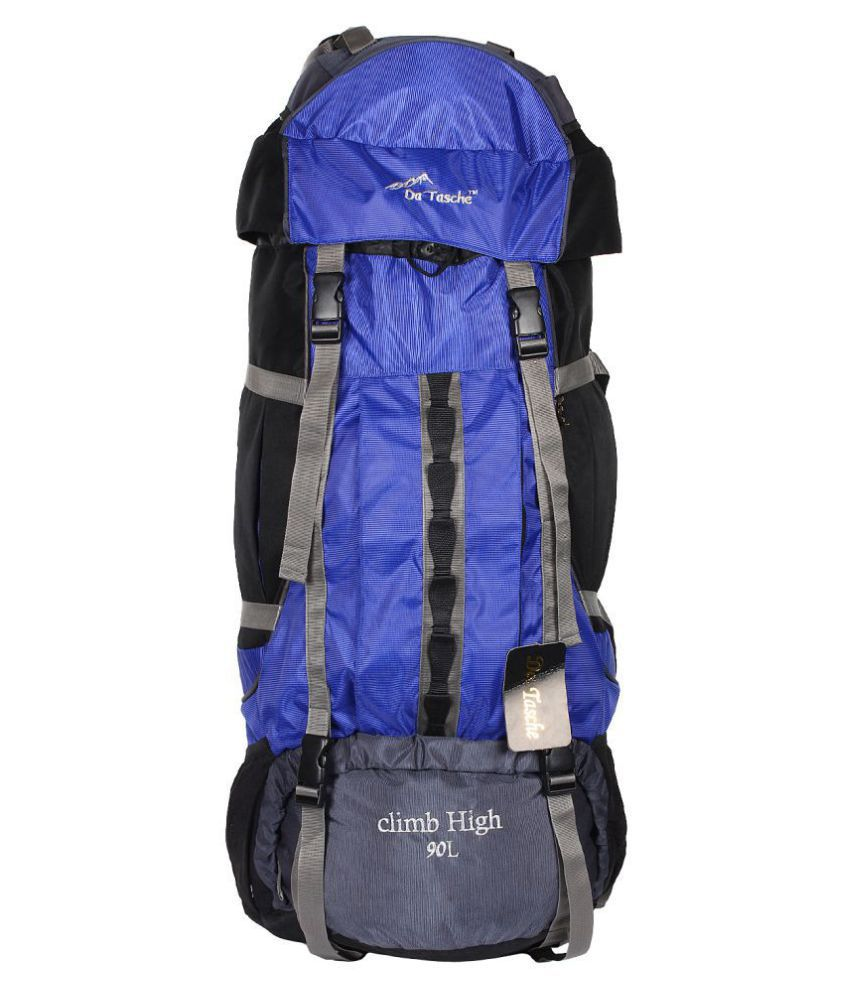 Da Tasche 80 litre and above Climb High 90L IB Hiking Bag