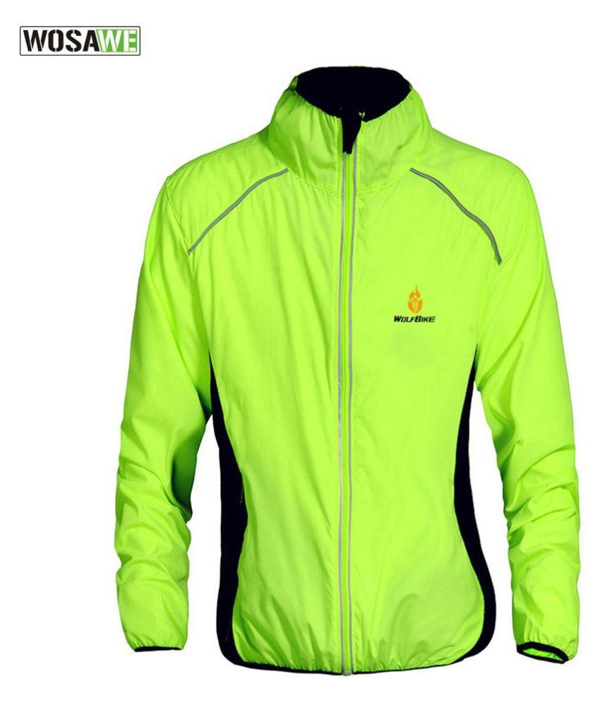 Changing Destiny Polyester Short Rainwear - Green