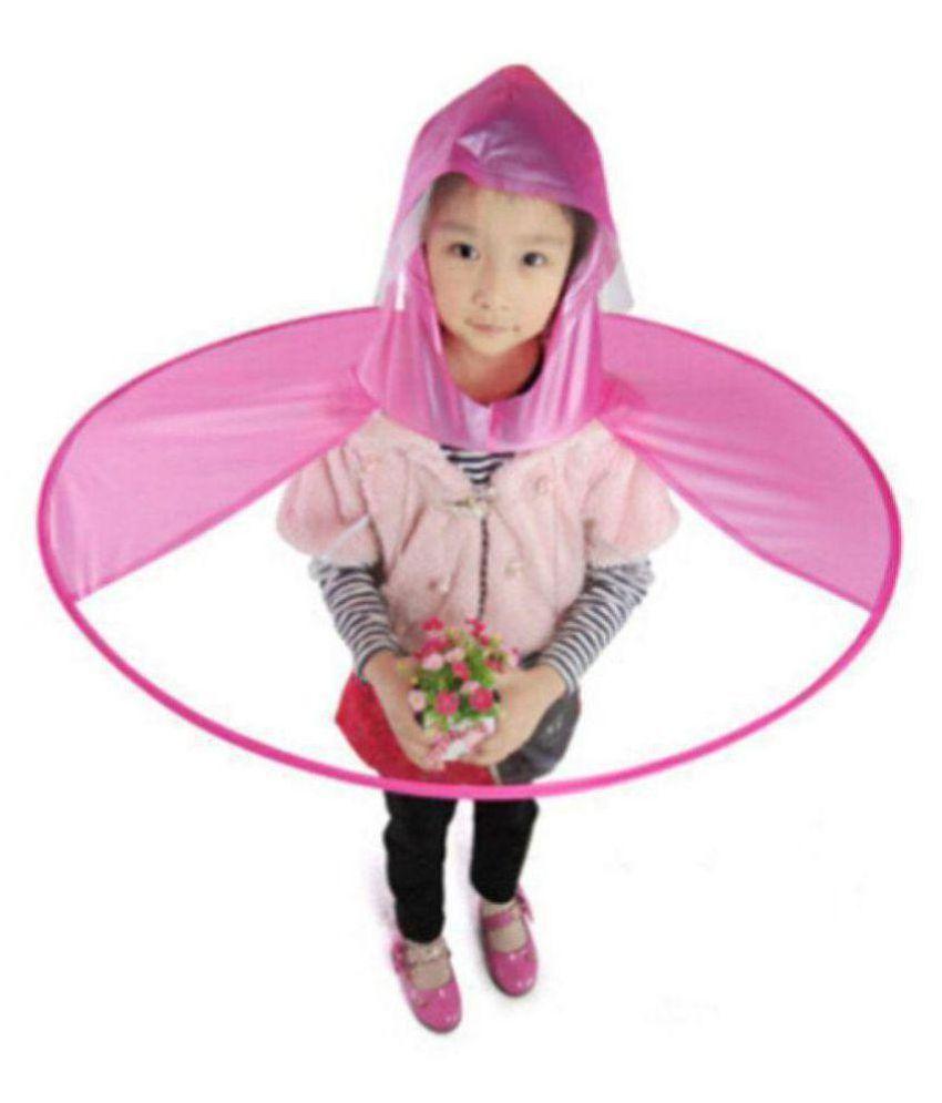 Creative Ufo Waterproof Hands Free Umbrella Rain Hat