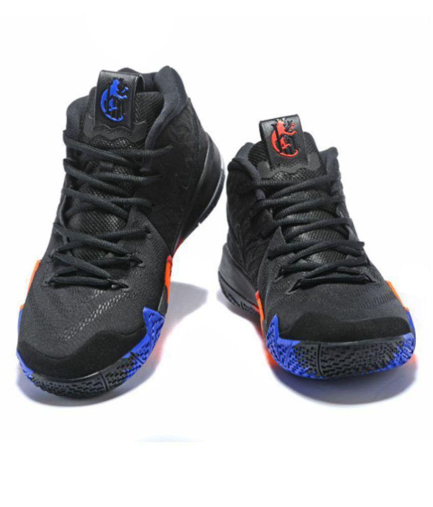 cc6e3f2aa75 Nike Kyrie 4 Black Basketball Shoes - Buy Nike Kyrie 4 Black ...
