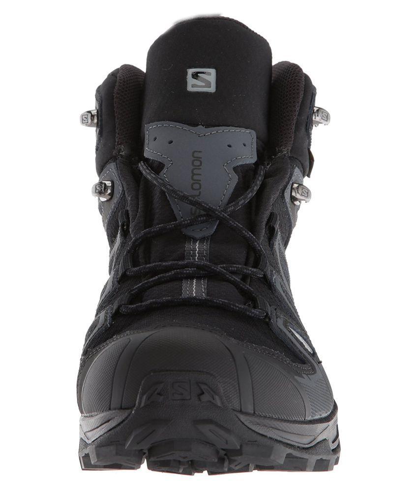watch 9f6f3 854a8 Salomon X ULTRA 3 MID GTX Black Hiking Shoes