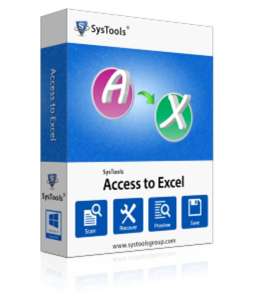 SysTools Access to Excel 32/64 Bit ( CD )