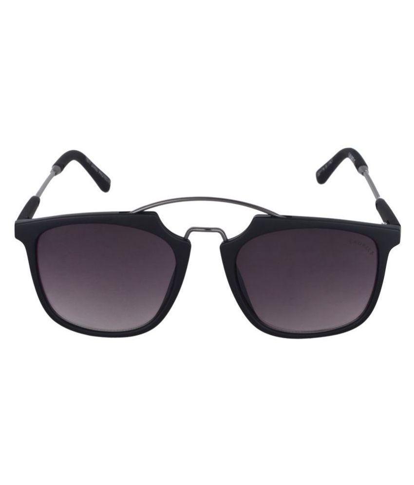 Laurels Black Clubmaster Sunglasses ( Lsm-Maestro-II-020202 )