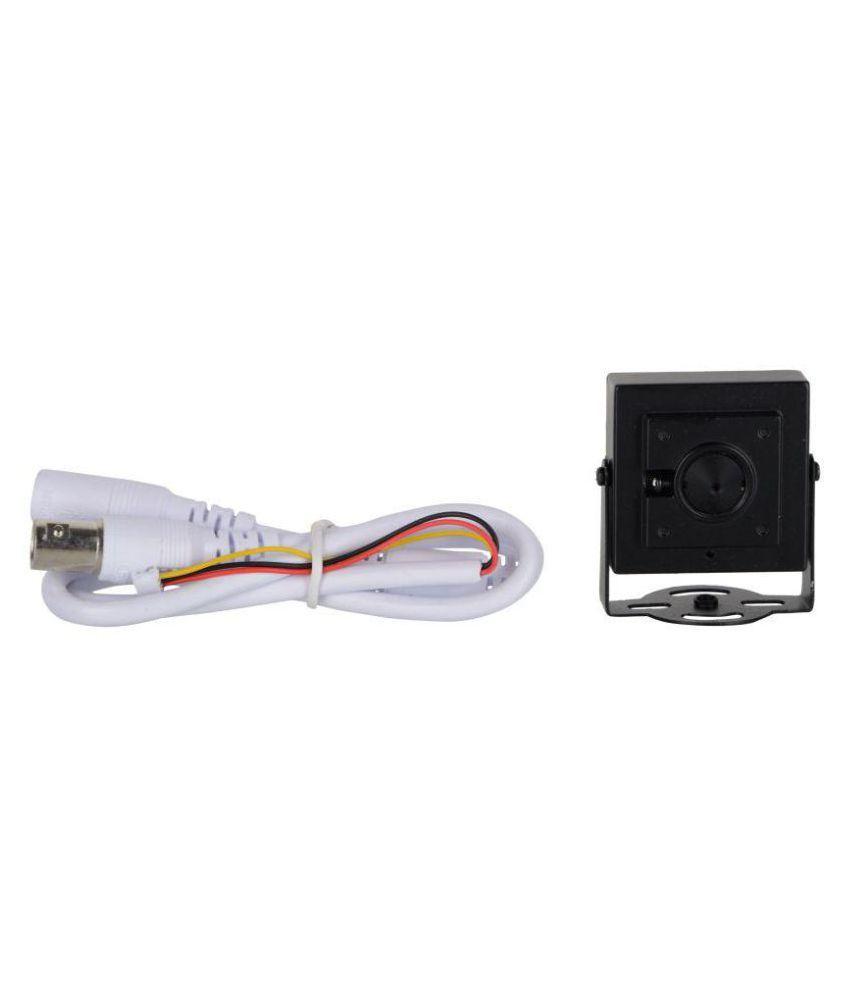 WECAM AHD Analog Series 1.3 MP Pinhole Lens Spy Camera (Black)