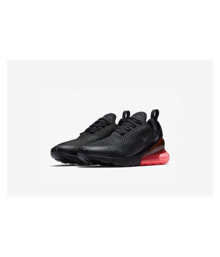 designer fashion 4defd 83322 Nike AIR MAX 270 Black Running Shoes ...
