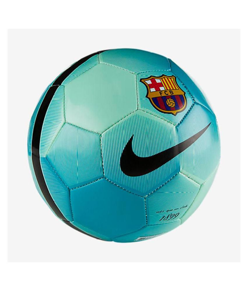 167acd8e945 Nike FC Barcelona Green Football / Ball Size- 5: Buy Online at Best Price  on Snapdeal