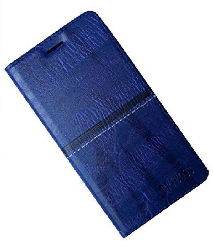 Micromax Bolt Q370 Flip Cover by Zocardo - Blue