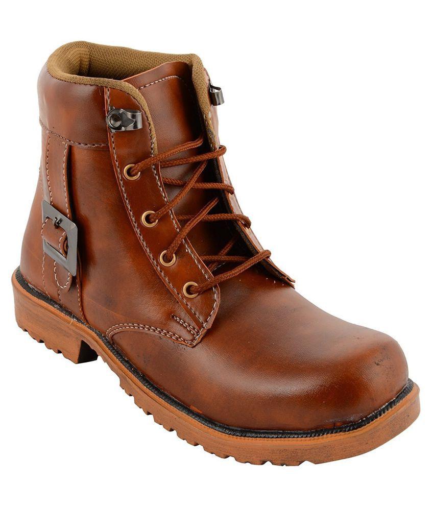 Purport Tan Casual Boot