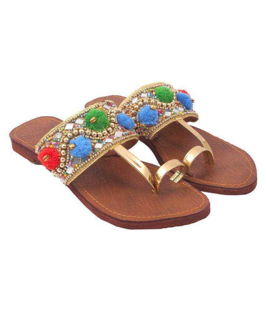 VINAYAK COLLECTION Multi Color Ethnic Footwear