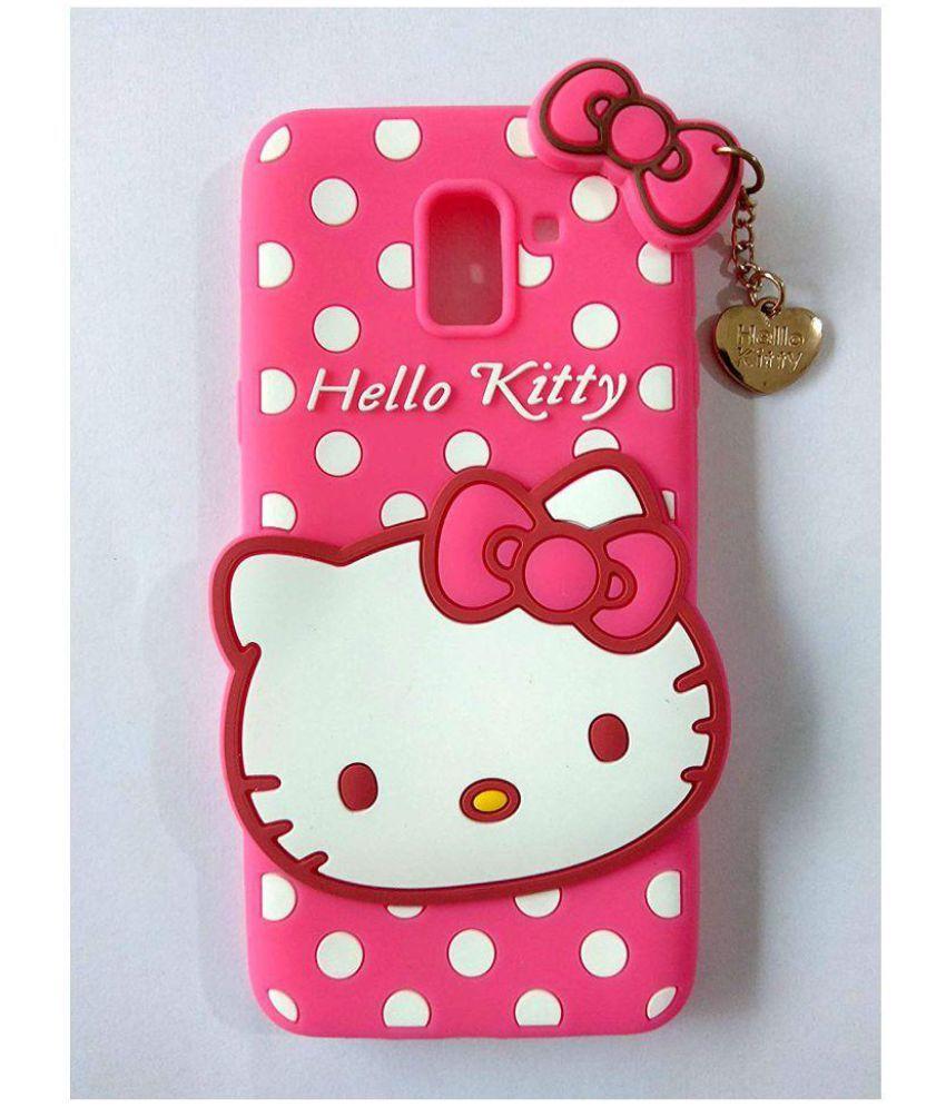 promo code 5466e fa68d Samsung Galaxy J6 Bumper Cases QuikDeal - Pink