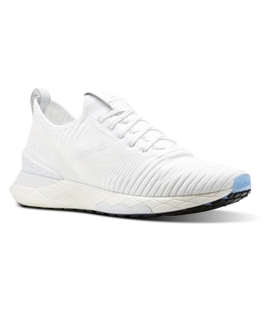 bf4c65799f53 Reebok Floatride 6000 White Running Shoes - Buy Reebok Floatride 6000 White  Running Shoes Online at Best Prices in India on Snapdeal