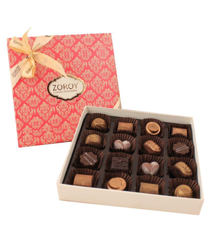 Zoroy Luxury Chocolate Signature Chocolate Chocolate Box 180 gm