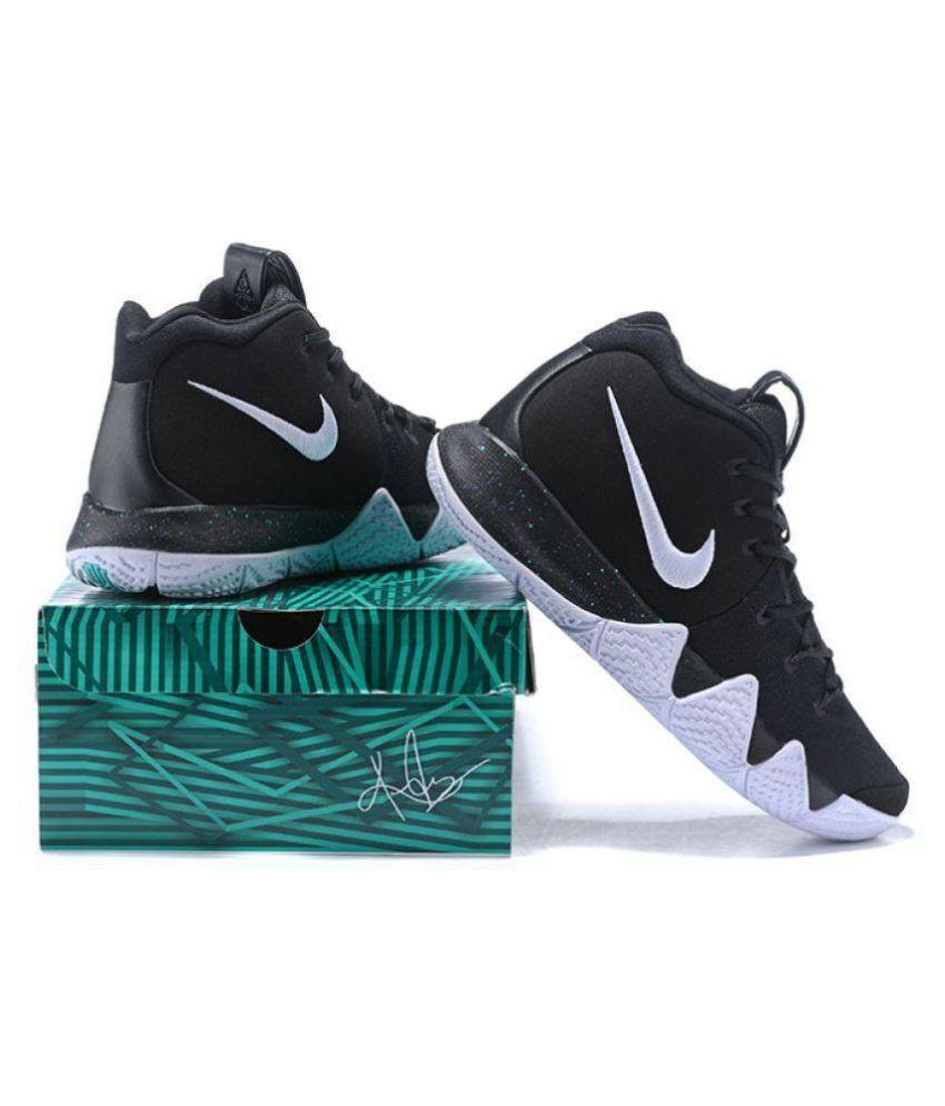 the latest 327e9 17541 Nike KYRIE 4 2018 LTD Black Basketball Shoes