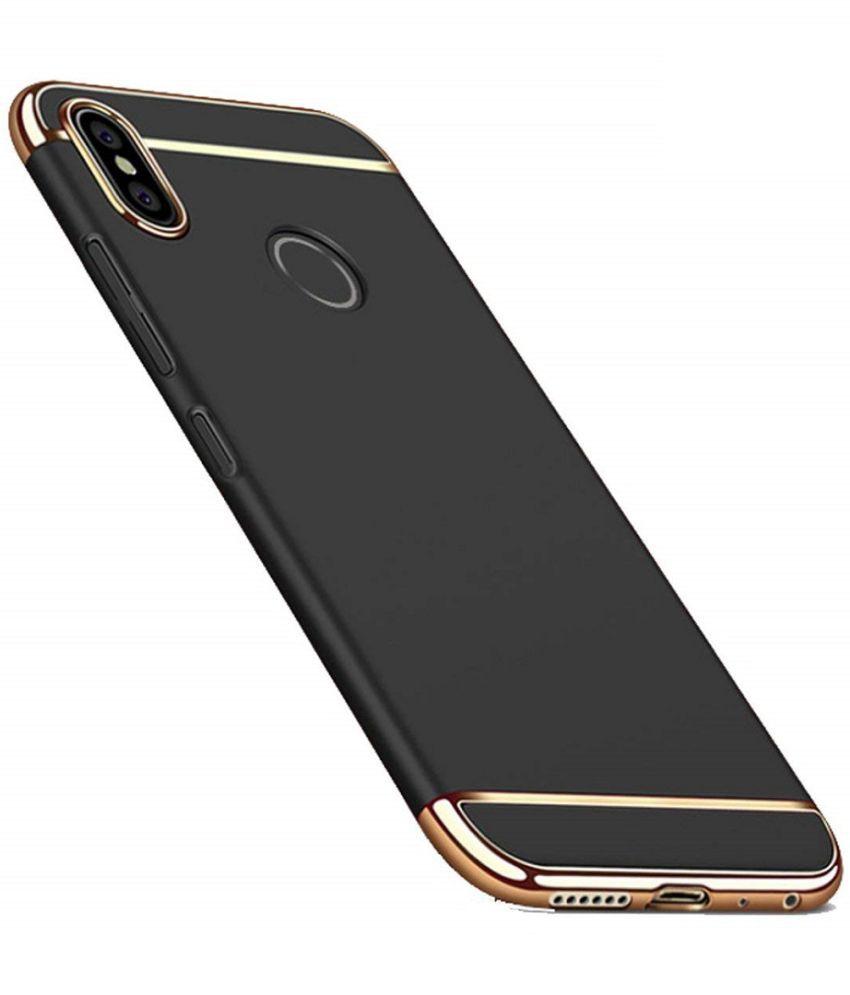 buy popular 4690e a79a9 Xiaomi Redmi Y2 Plain Cases COVERNEW - Black