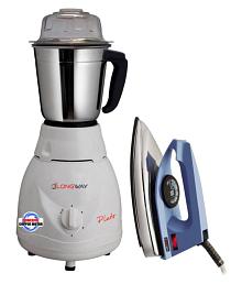 LONGWAY PLUTO 500 Watt 1 Jar Mixer Grinder