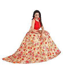 Nplash Fashion Multicoloured Bangalore Silk Unstitched Semi Stitched Lehenga
