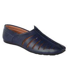 Samyra Blue Designer Shoe