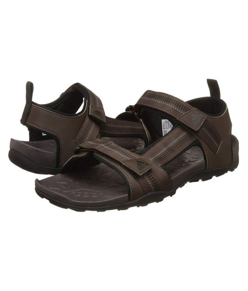 b2d17b882428 Adidas Galore Path M Brown Floater Sandals - Buy Adidas Galore Path M Brown  Floater Sandals Online at Best Prices in India on Snapdeal