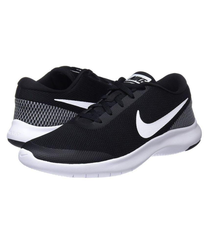 1f47749be933 Nike FLEX EXPERIENCE RN 7 Black Running Shoes - Buy Nike FLEX ...