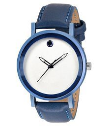 Cool Blue White Watch For Boys & Men