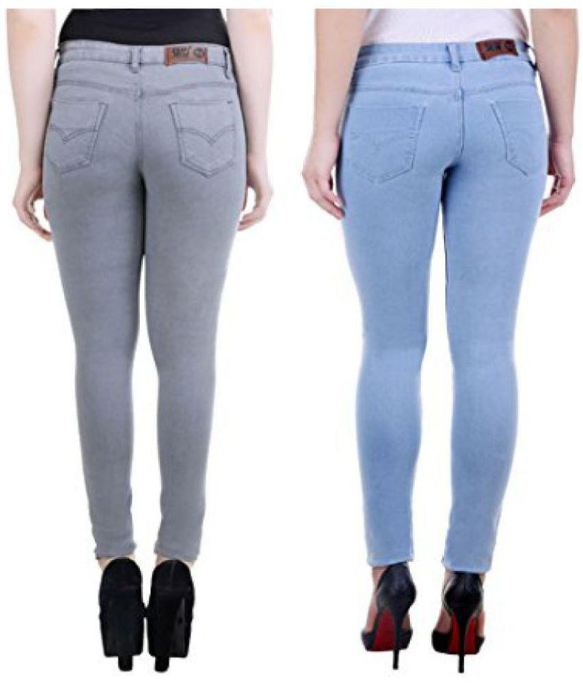 PerfectLift Denim Jeans - Grey