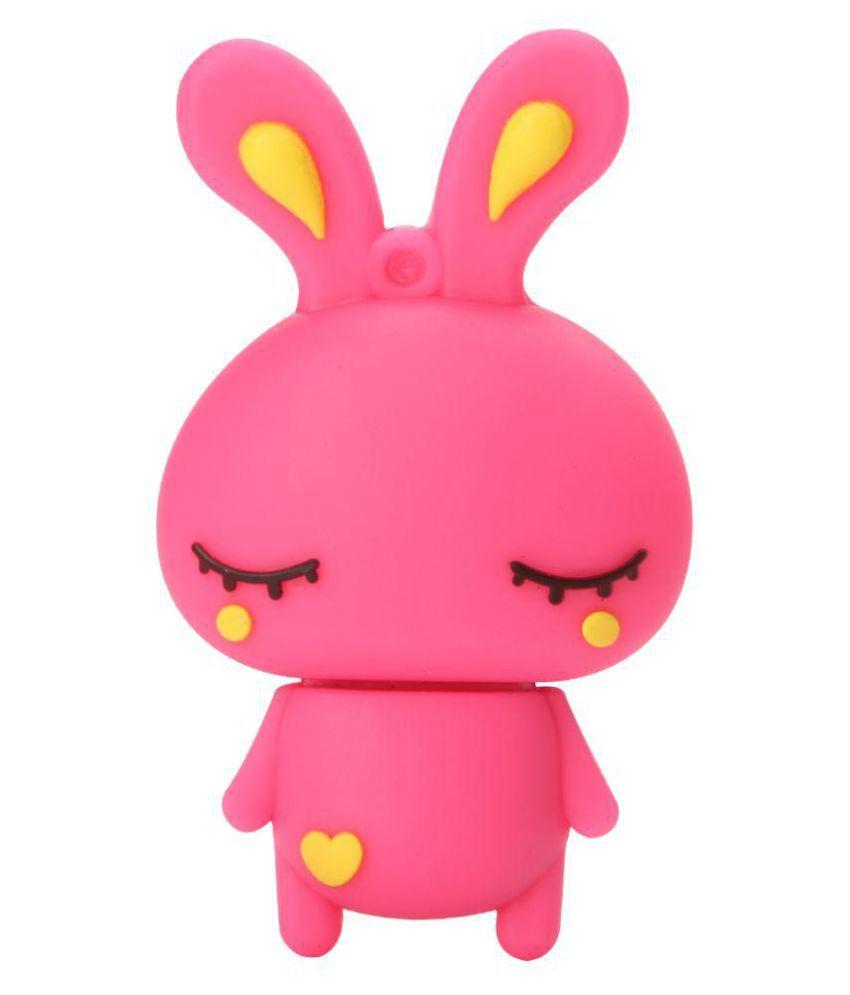 Tobo Cartoon Pink Bunny Pendrive32GB 32GB USB 2.0 Fancy Pendrive Pack of 1