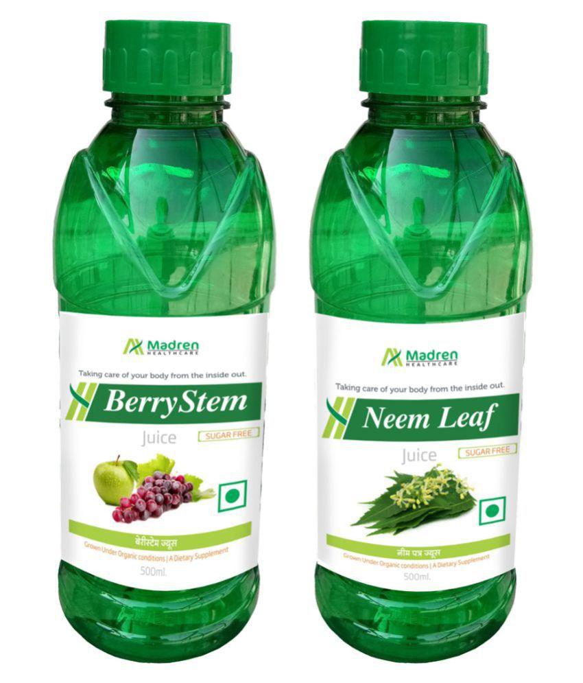 Madren Healthcare Berry Stem & Neem Juice Health Drink 1000 ml