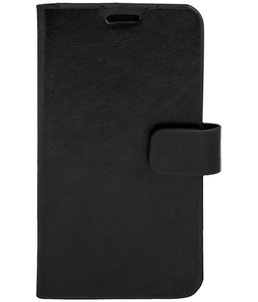Xolo Q1011 Flip Cover by Zocardo - Black