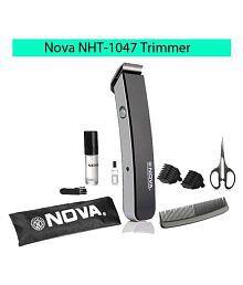 NOVA NHT-1047 Rechargeable Beard Trimmer ( Black )