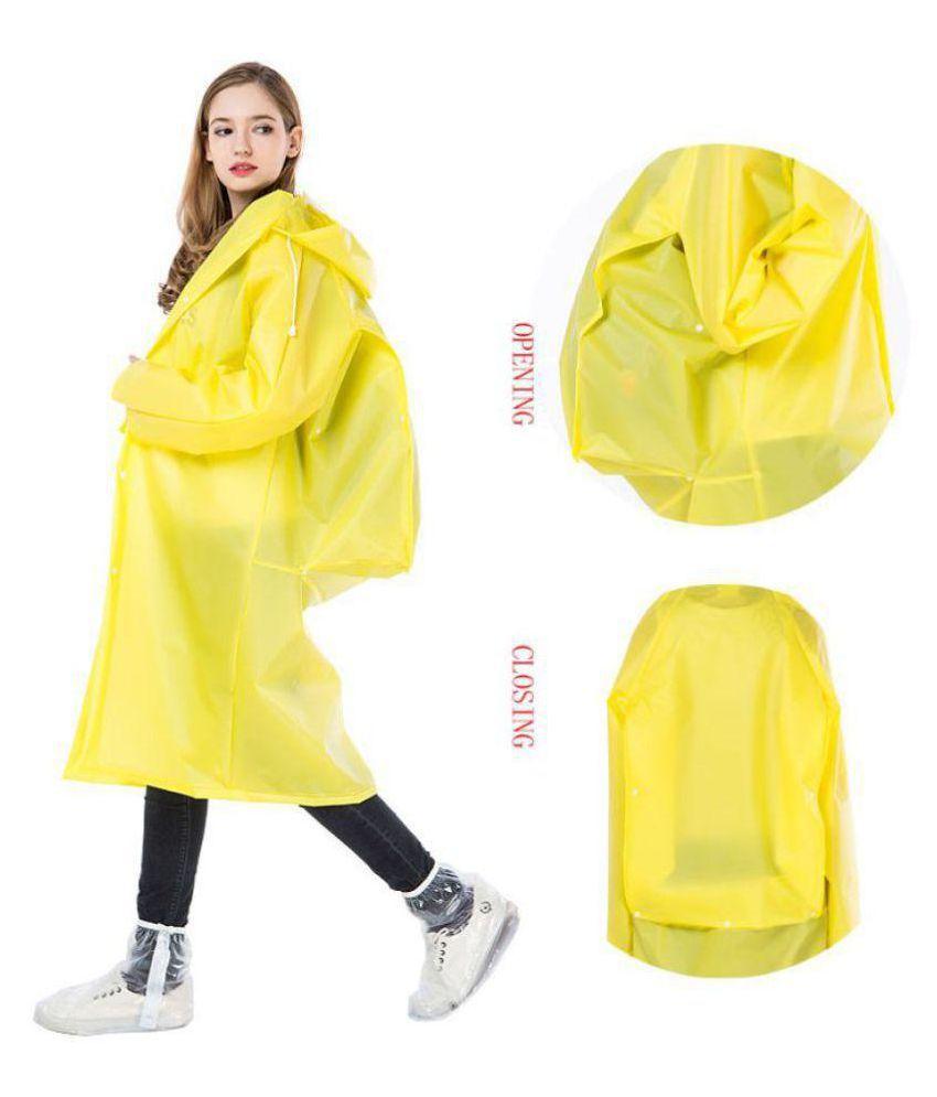 Kamalife Waterproof Raincoat Set - Yellow