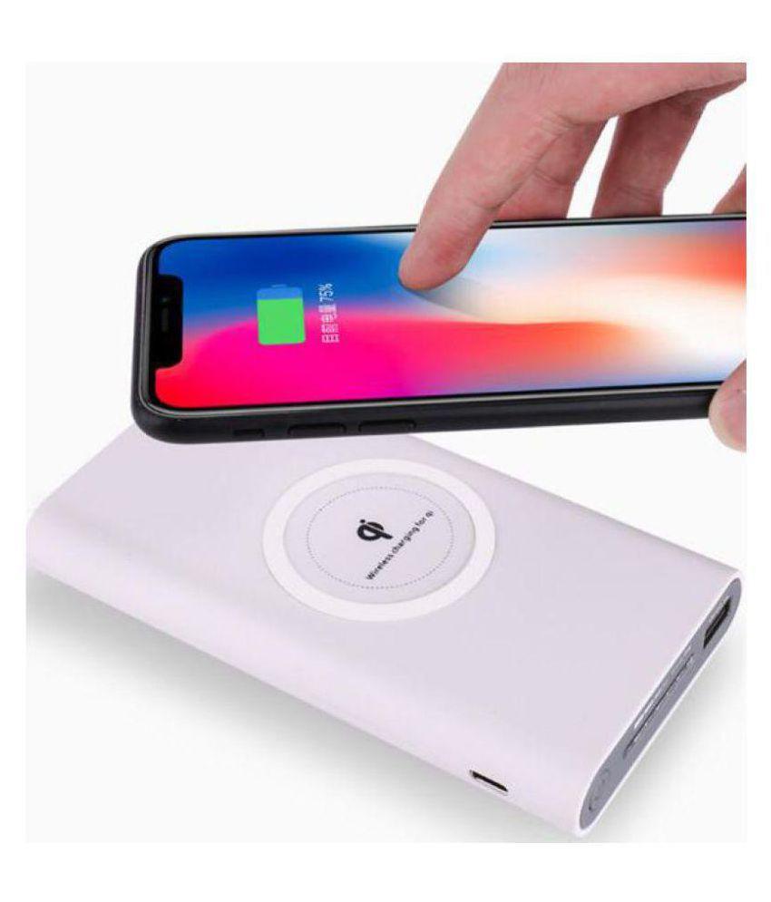 PAFL BP_W_W1 10000 -mAh Li-Polymer Wireless Power Bank White